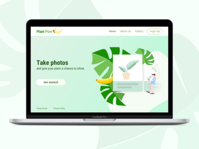 PlantPorn daily ui