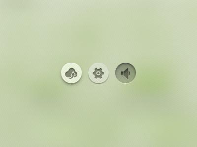 Green buttons green button ui gui interface