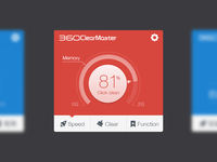 Clean commonly used storage space memory icon ui clean