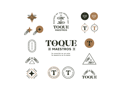 TOQUE Maestros Lockups and Badges