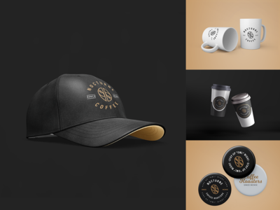 Merchandise Design for Nocturne Coffee