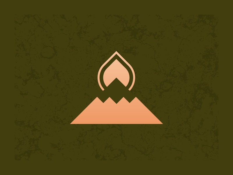 Mountaintop logo design concept graphic design illustrator cc vector branding design logo brand icon