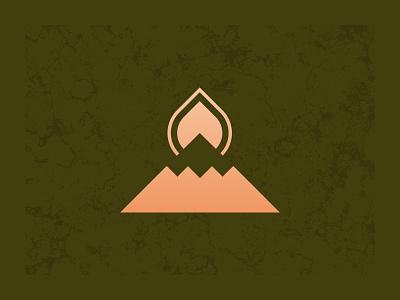 Mountaintop logo design concept graphic design illustrator cc vector branding design logo brand icon