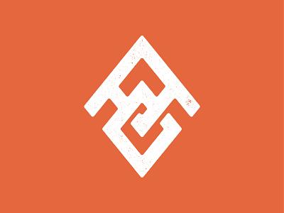 AO Badge odyssey american shapes type monogram logo branding vector icon brand design