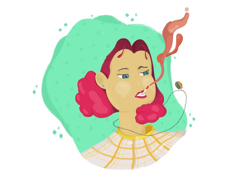 Girl colours personaje ilustracion illustrations brushes photoshop characterdesign drawing illustration