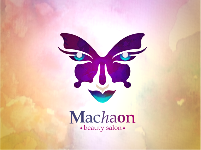 "Beauty salon ""Machaon"" logo"