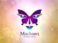 "Beauty salon ""Machaon"" logo"