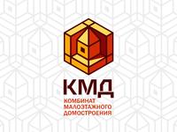 КМД логотип для домостроительной компании