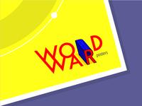 WORD WAR POSTER logo