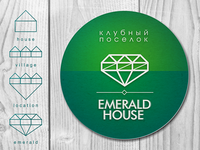 Emerald House village logo