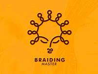 Braiding master logo