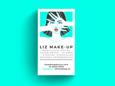 Make-up artist card