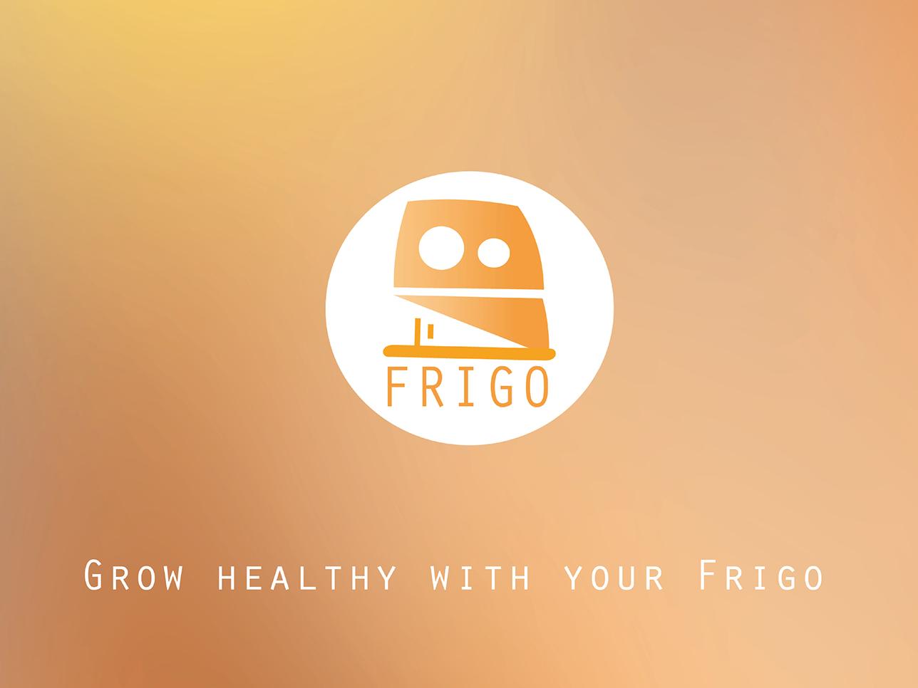 Frigo app ux ui design logo illustration smartdevice tamagotchi health app smart home