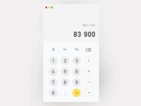 #dailyui#003 Calculator