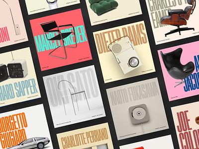 Designers and projects designer instagram post instagram typogaphy graphic  design