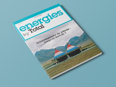 Energies by Total typogaphy total art director magazine graphic  design