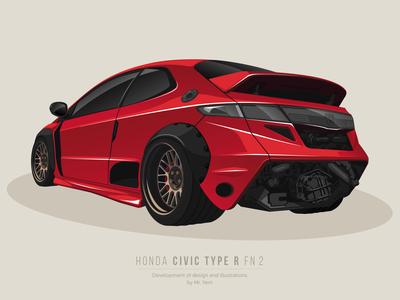 Honda Civic TYPE R fn 2