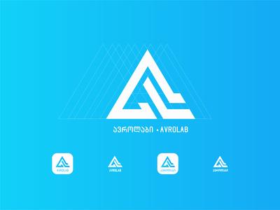 ავროლაბი • Avrolab [Rework] [A + L] symbols ავროლაბი brand design branding logo