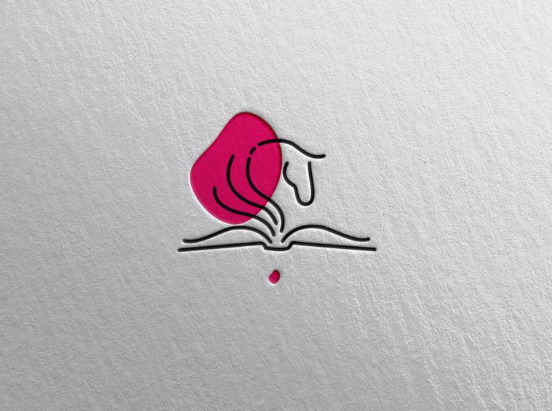 Pegasus Books [Logo] [Rework] publishing house publishing inspiration logos horse logo bookshop books horse pegasus