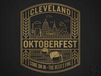 Cleveland Oktoberfest Beer Label