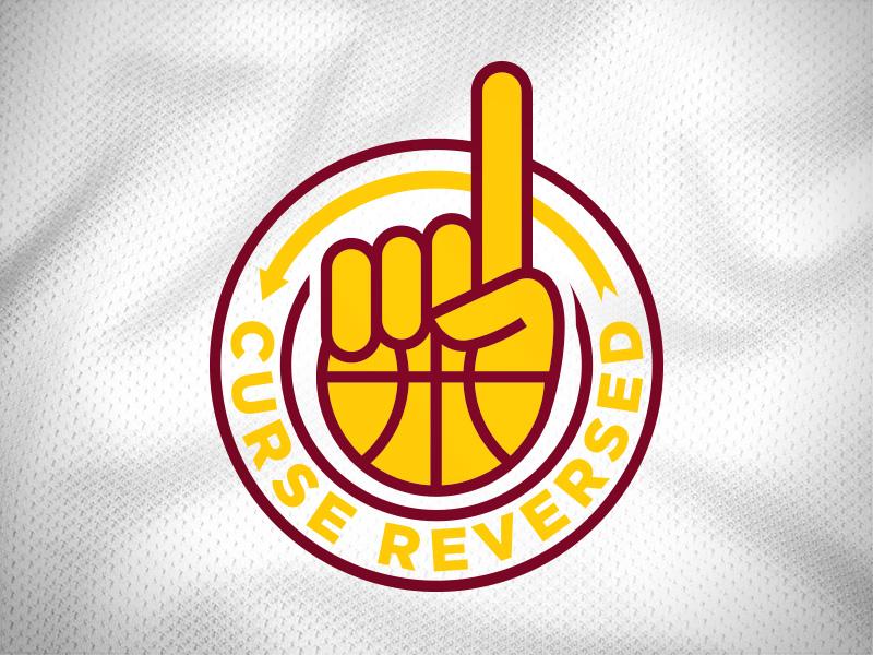 Curse Reversed nba basketball cavs fresh brewed tees cavaliers cleveland
