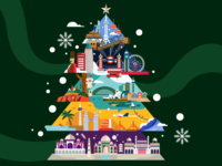 Christmas Greeting for Enrich l Malaysia Airlines