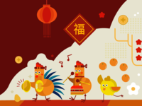 Chinese New Year greeting for Enrich l Malaysia Airlines
