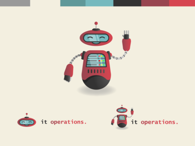 Robot Mascot - Chip