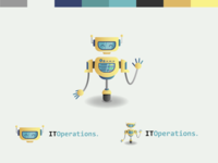 Robot Mascot - Blip
