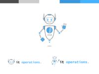 Robot Mascot - MAX