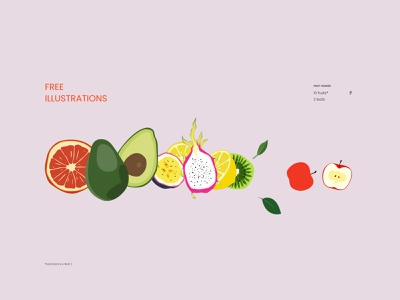 Fruit Hunger Free Illustration fruit free illustration free juice orange hunger online store online shop design illustration