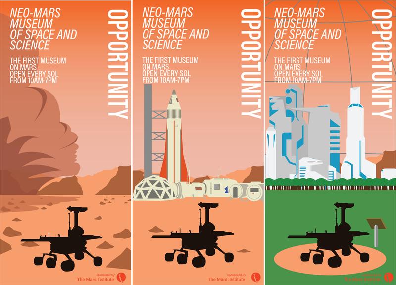 Opportunity future mars spaceship billboard design rover nasa billboard space opportunity