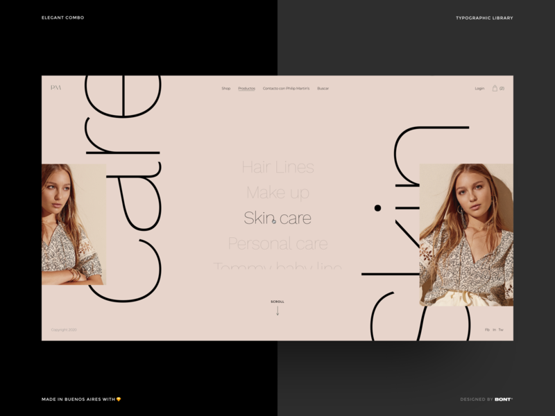 Elegant Combo - Typographic Library - Example - 01 system symbol work sans montserrat combo elegant library web design website ui kit flat typography interaction design ux ui
