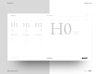EB Garamond - Typographic Library - Light grey color - 08 sketchapp web design website typography interaction design ux ui