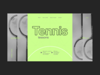 Tennis lessons 1