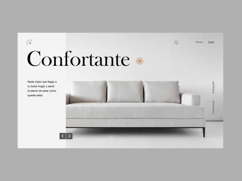 Home furniture 1 minimal desktop helvetica neue landing interaction design ux ui desgin web