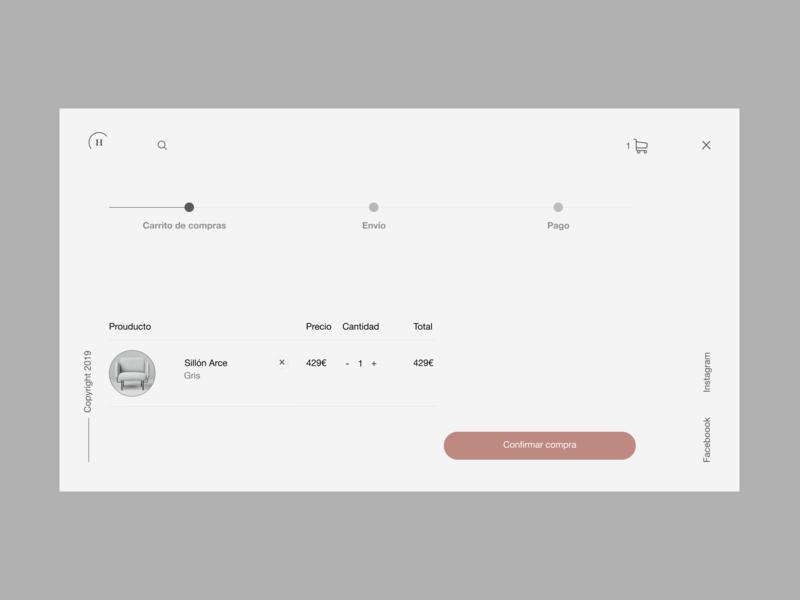 Home furniture 6 web design minimal desktop design shop helvetica neue interaction design landing ux ui