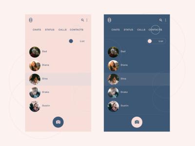 Messaging app 2 - List