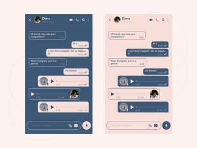 Messaging app 3 - Chat