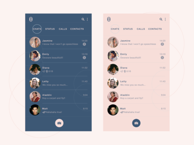 Messaging app 5 - Chats