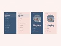 Messaging app 8 - Settings/ profile