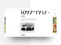 Artists' website - 02