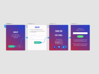 Daily UI 001 : Signup form