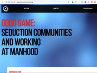 Good Game Landing Page