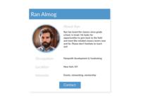 Daily UI 006: user profile