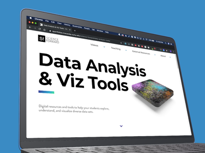 Science Forward, data visualization resources science oer open educational resource data resources data visualization