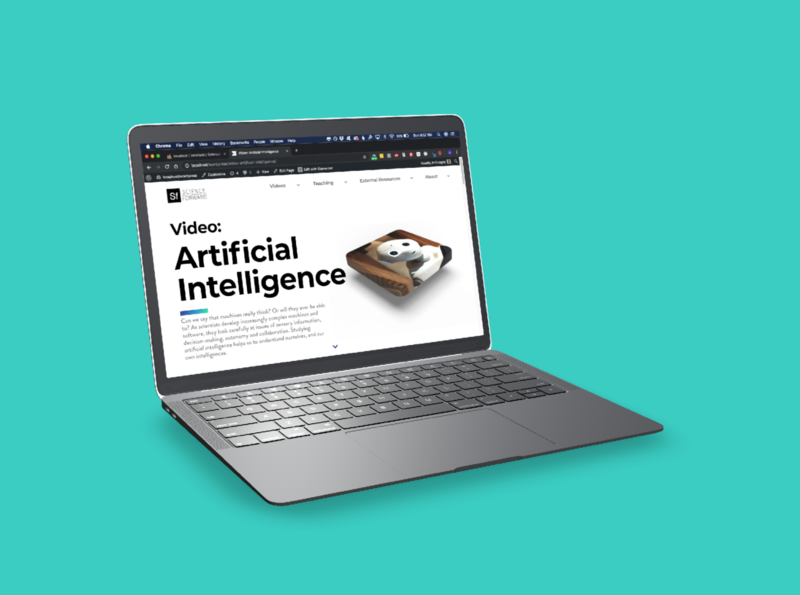 Science Forward, artificial intelligence topic page mooc online learning ai science oer open educational resource science forward artificial intelligence