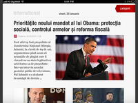 Revista Presei iPad App
