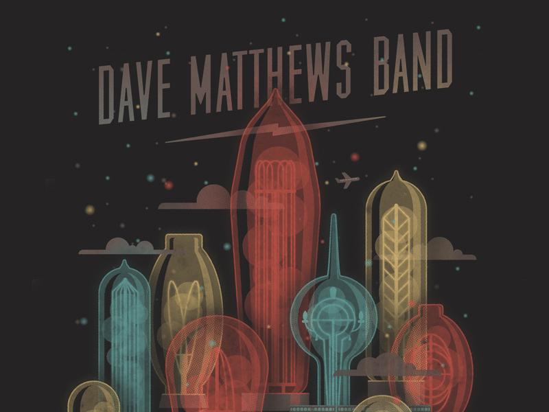 Dave Matthews Band // Scranton, PA Poster