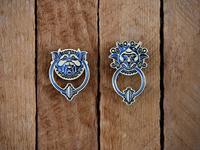 Labyrinth: Left Door Knocker Pins